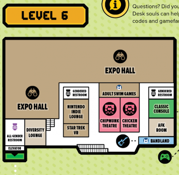 This is the level six map.