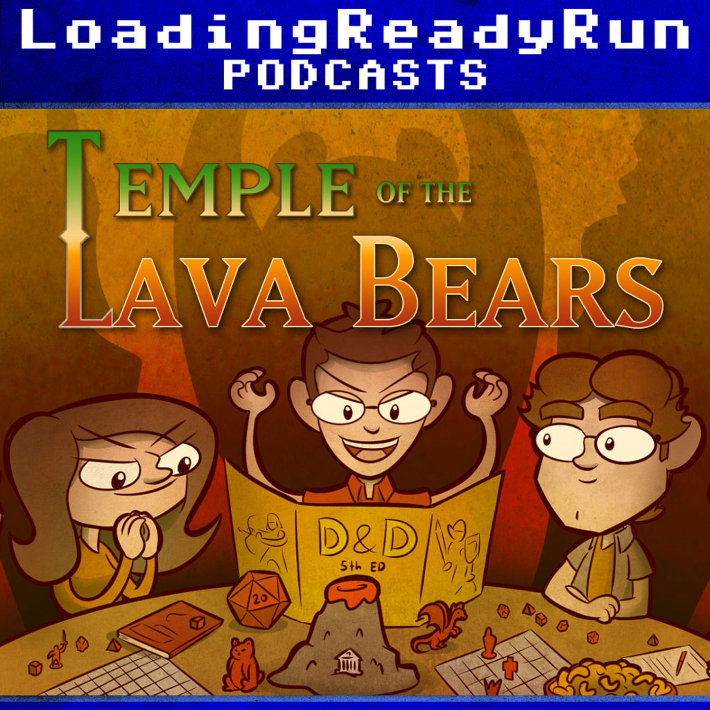 Temple of the Lava Bears - LoadingReadyRun