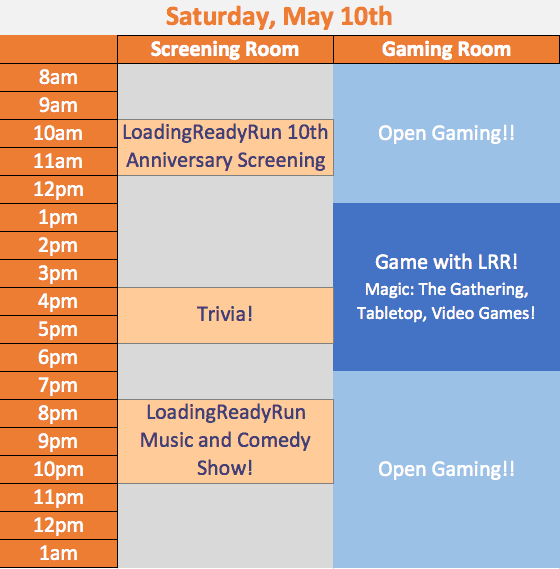 LRRcon Schedule